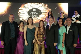 Grand, Glittery, and Gold at Marriott Manila
