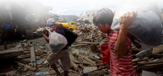 4 months after Yolanda, Samar and Leyte slowly being rebuilt
