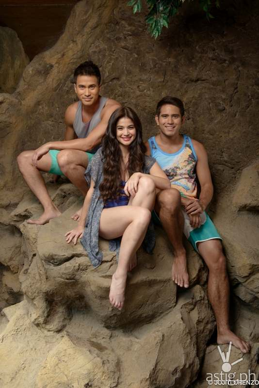Anne Curtis, Gerald Anderson and Sam Milby stars in Dyesebel