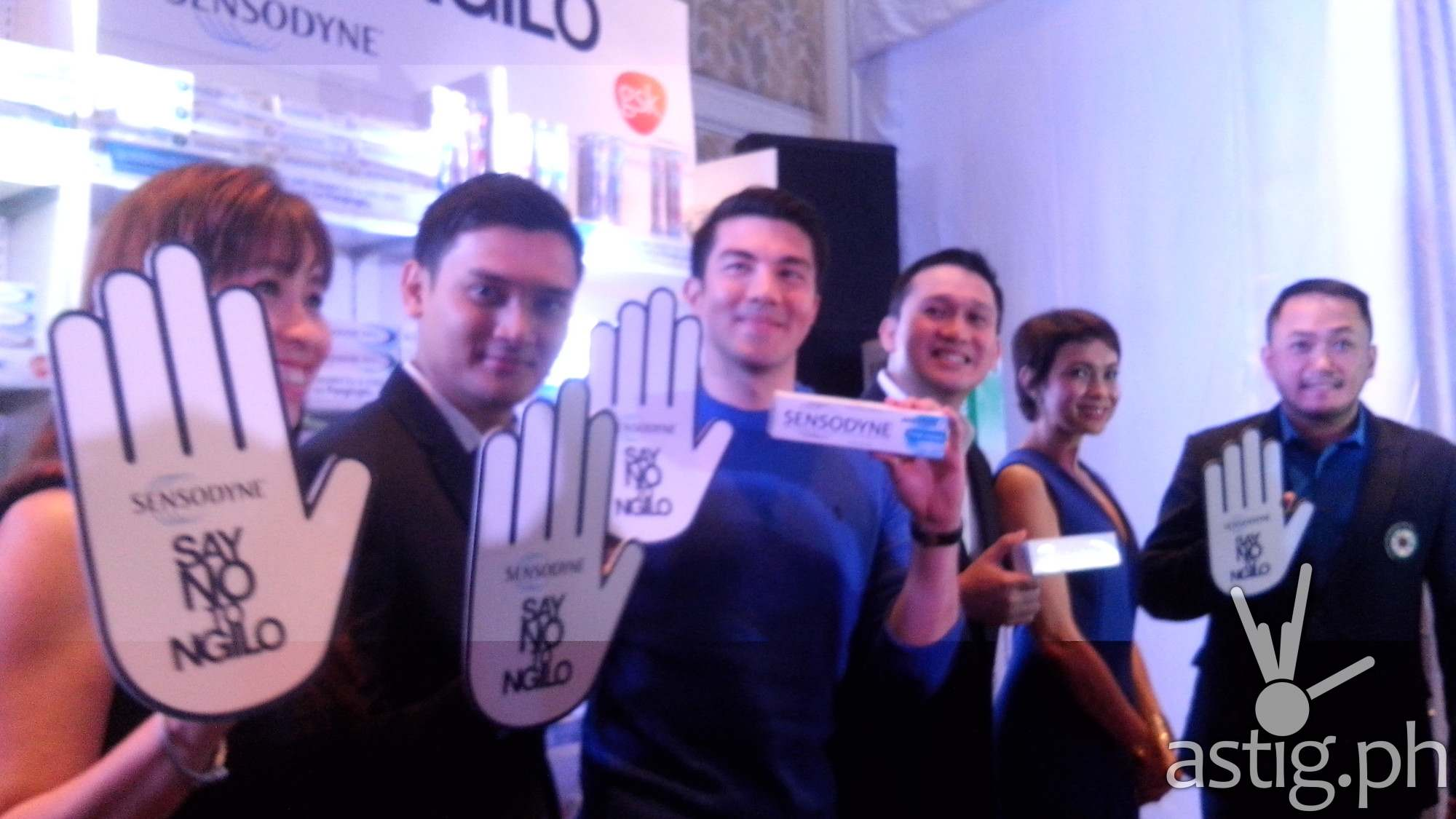 Luis Manzano and Sensodyne