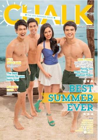 Julia Montes an adventurous girl, describes co-star Enrique Gil