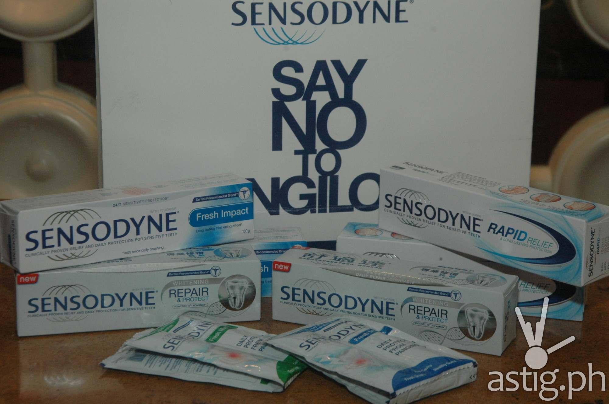 Sensodyne Products