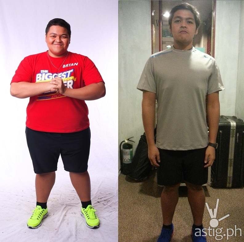 Before and after: Bryan of The Biggest Loser Pinoy Edition Doubles