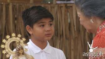 Bugoy Carino's new role as 8 year-old parent will break your heart