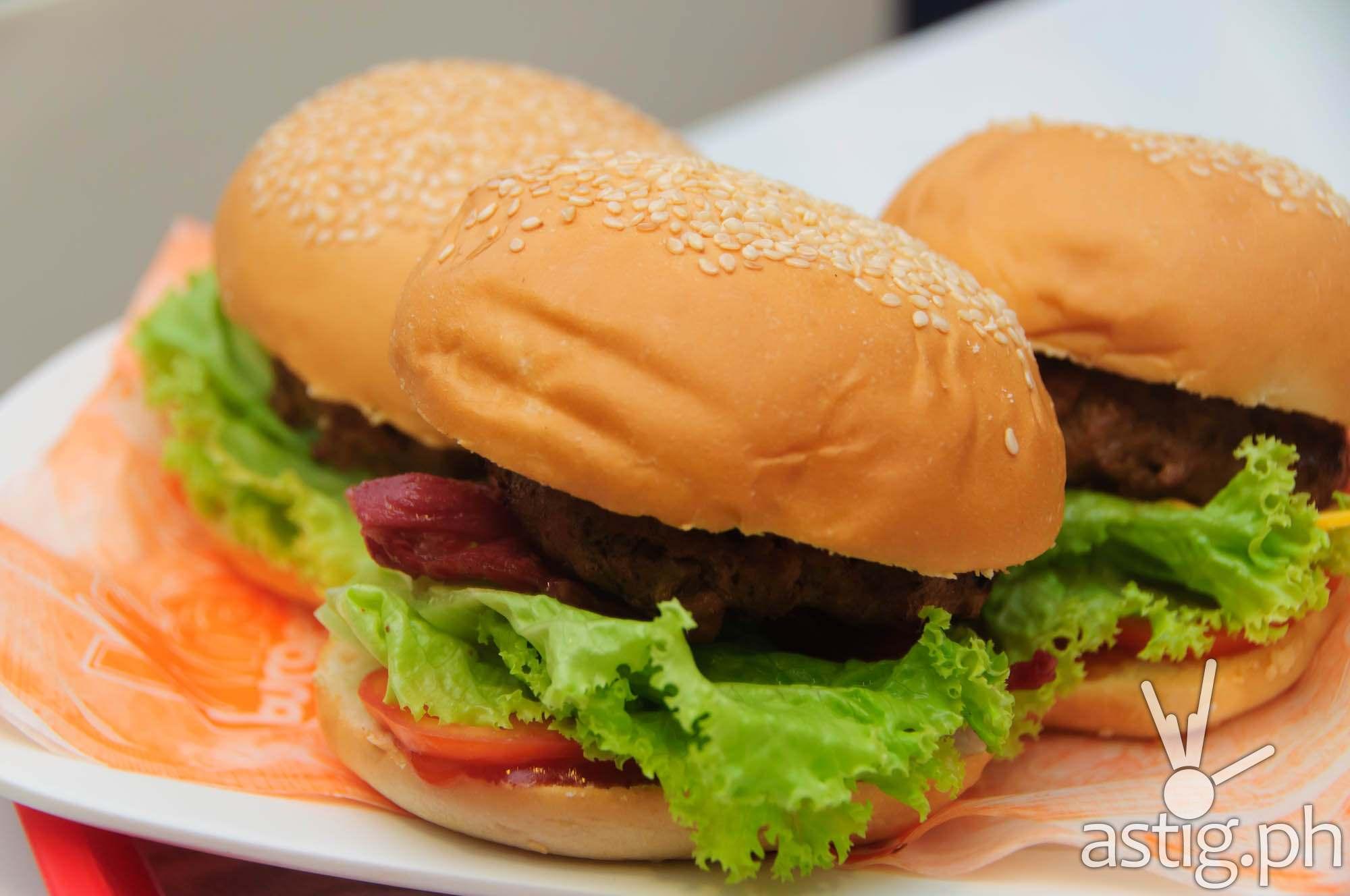 Sliders Trio at Wham! Burger