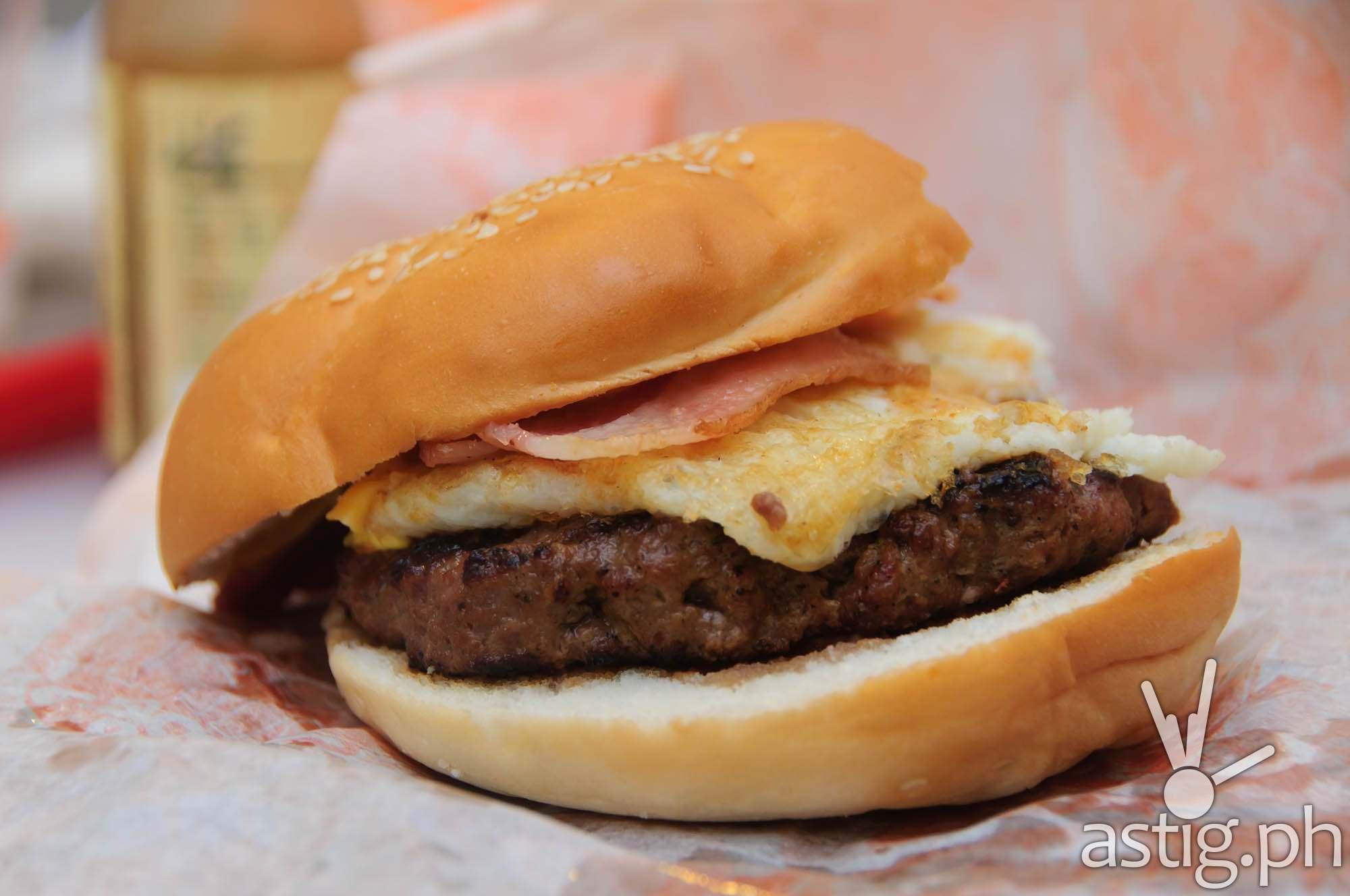 Brekkie Burger at Wham! Burgers
