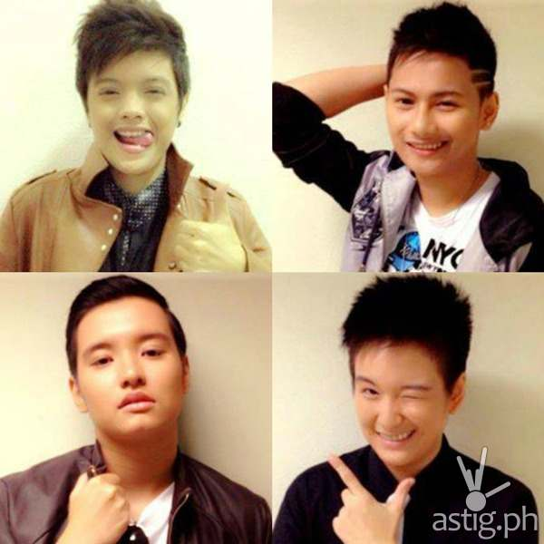 That's My Tomboy finalists Ephey, Pao, Sky, and Kim