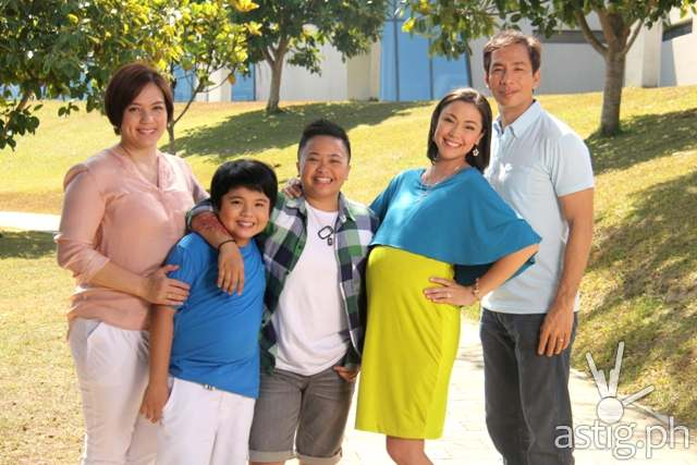 Maya and Ser Chief with the Dela Rosa family