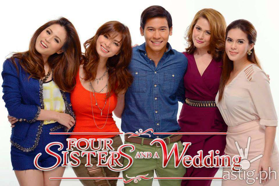 Bea Toni Angel And Shaina Win Awards For Four Sisters And A Wedding