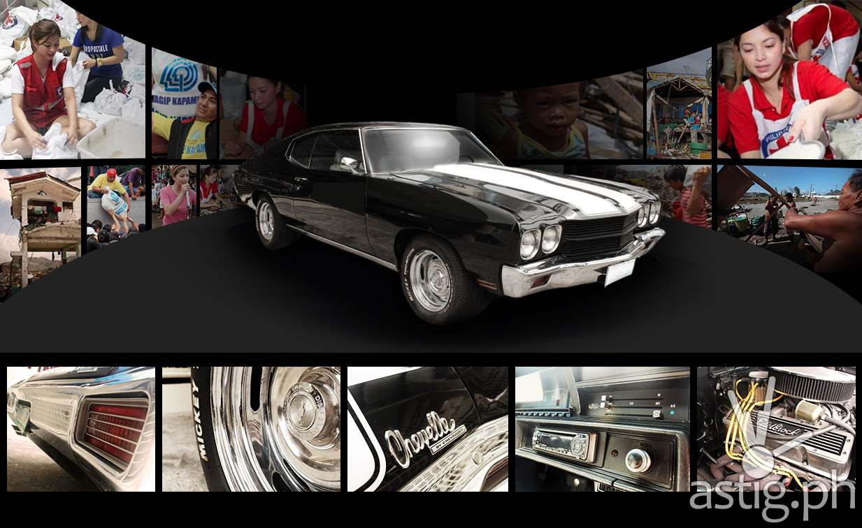 Angel Locsin's 1970 Chevrolet Chevelle