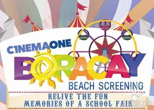 Cinema One Boracay Beach Screening 2014