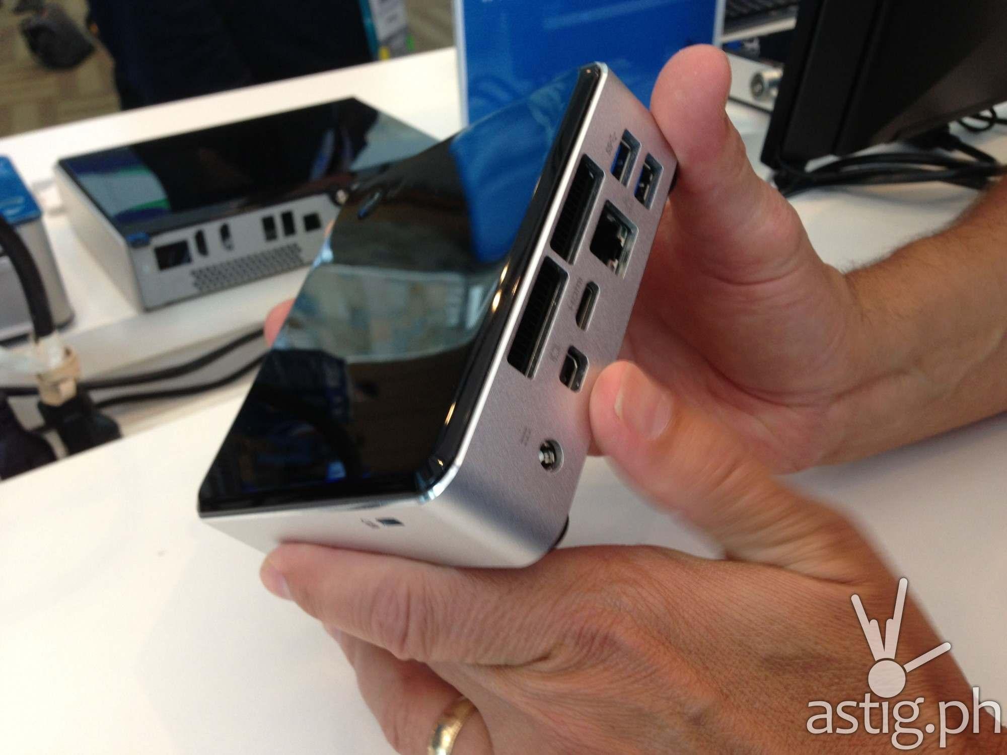 Intel NUC Haswell (case rear panel)