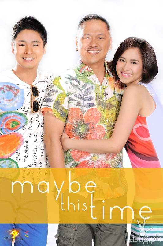 Sarah Geronimo Coco Martin and Jerry Lopez Sineneng in Maybe This Time