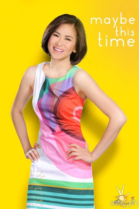 """14 photos of Sarah Geronimo and Coco Martin in """"Maybe This Time"""" 