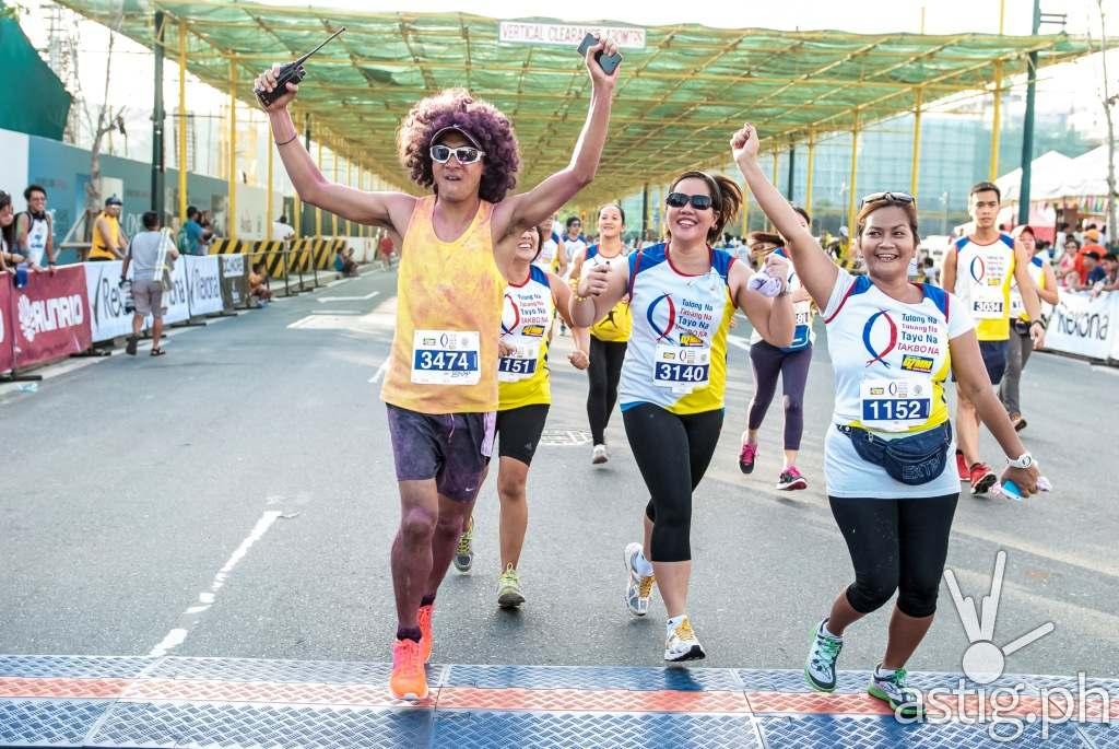 Running coach Rio dela Cruz