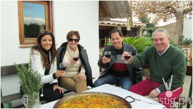 Sandy Daza takes FoodPrints to Spain