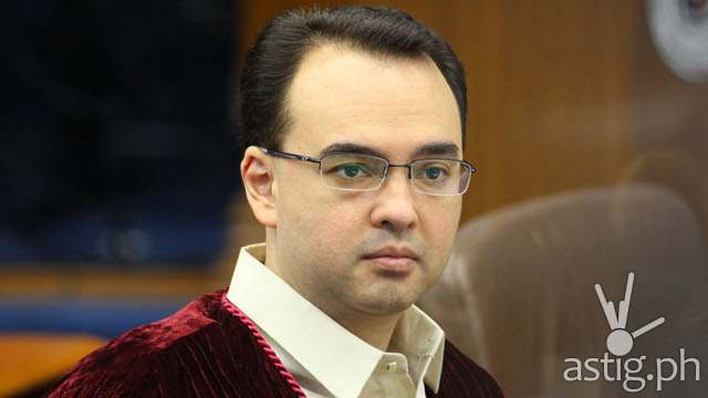 Senator Alan Peter Cayetano (photo by Rappler.com)