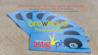 Brow-me-up! The Browhaus Browgraphy giveaway