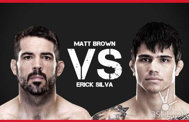 Matt Brown vs Erick Silva UFC Fight Night