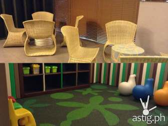 trinoma family lounge playground