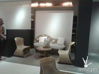 trinoma living room