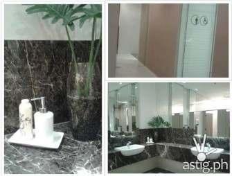 trinoma restroom