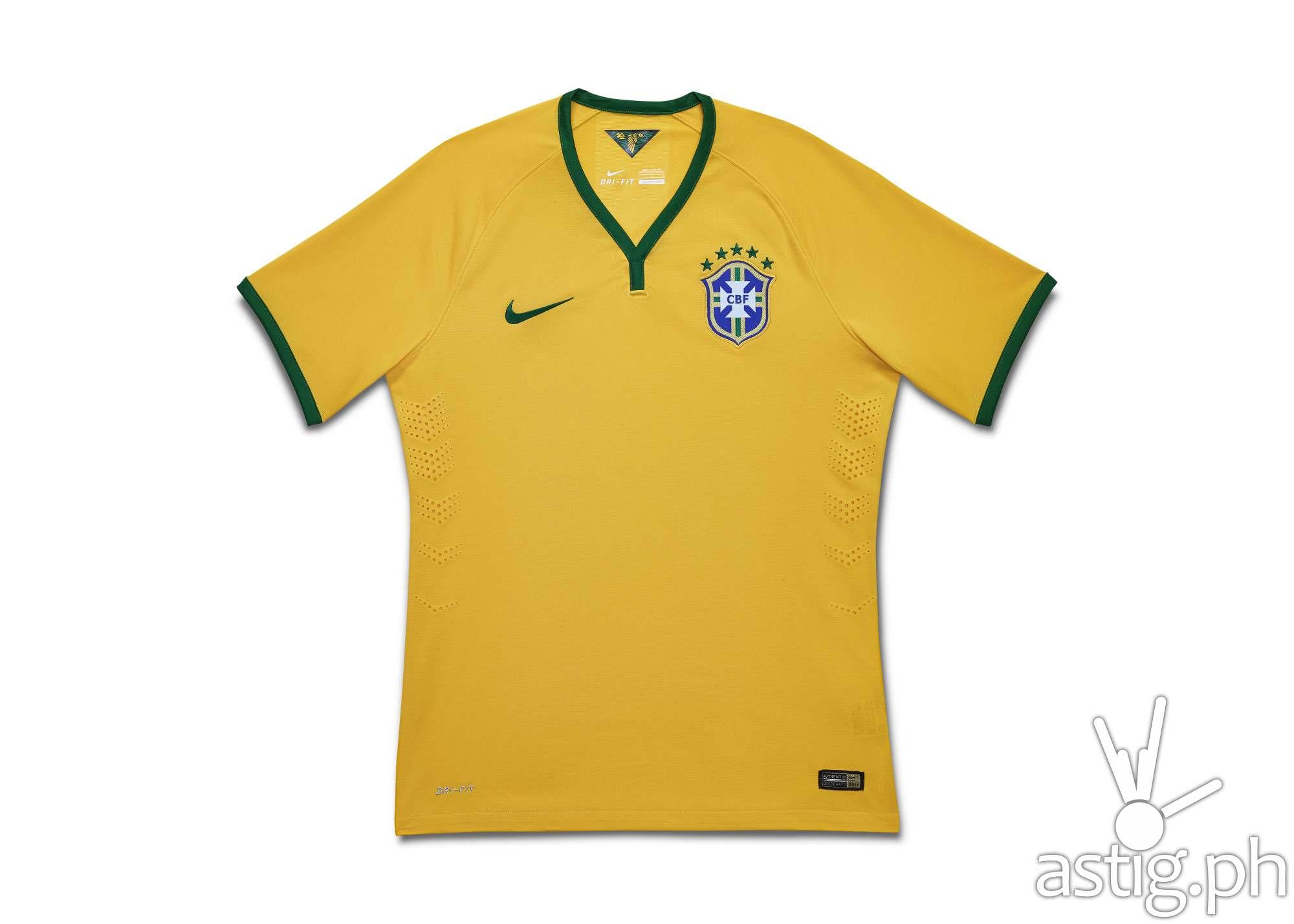 Brasil FIFA 2014 jersey uniform by Nike