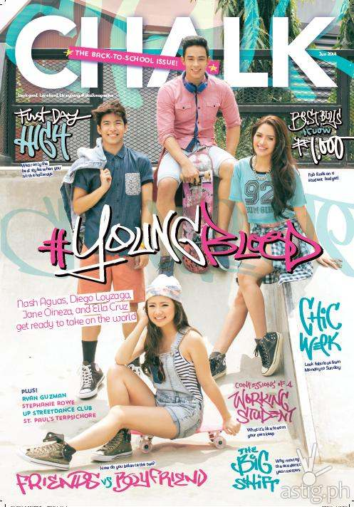 Chalk magazine June 2014 cover