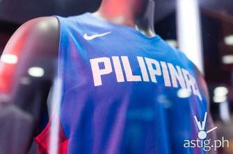 Gilas Pilipinas' 2014 FIBA jerseys launched by Nike