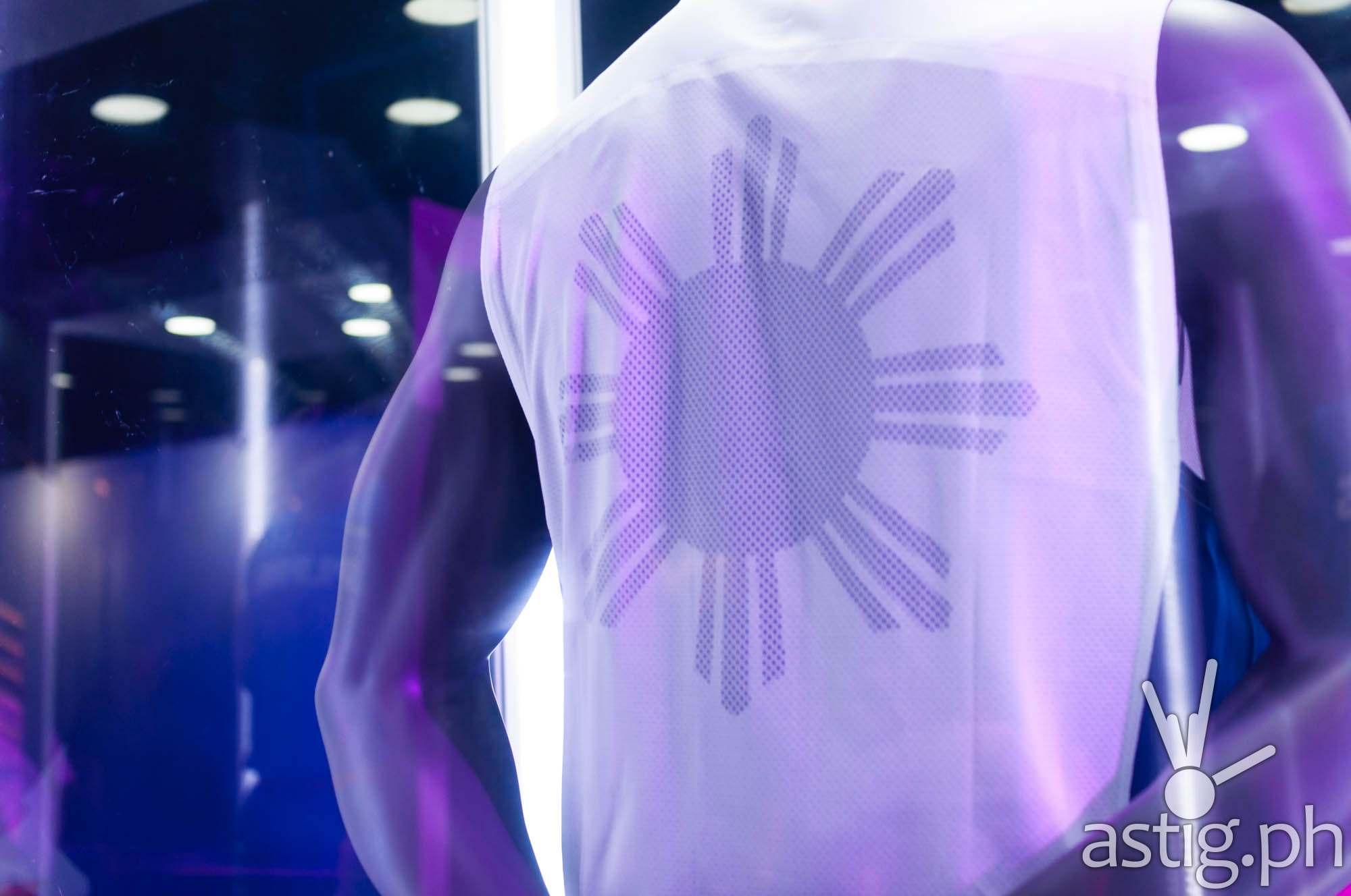 Gilas Pilipinas 2014 FIBA uniform by Nike (white back)