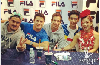 Philippine Volcanoes and Tessa Prieto-Vales at the FILA Meet and Greet event