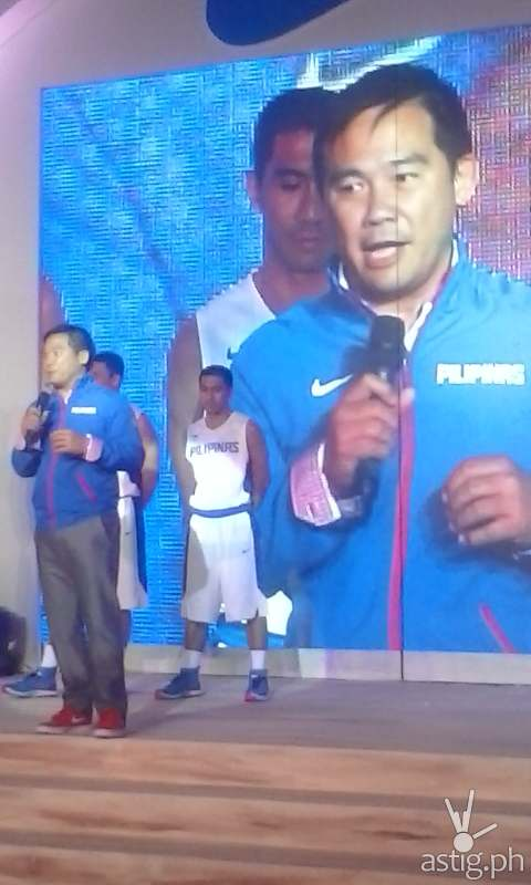 Gilas Pilipinas coach Chot Reyes