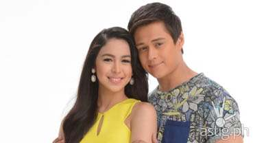 Mirabella Julia Barretto and Enrique Gil