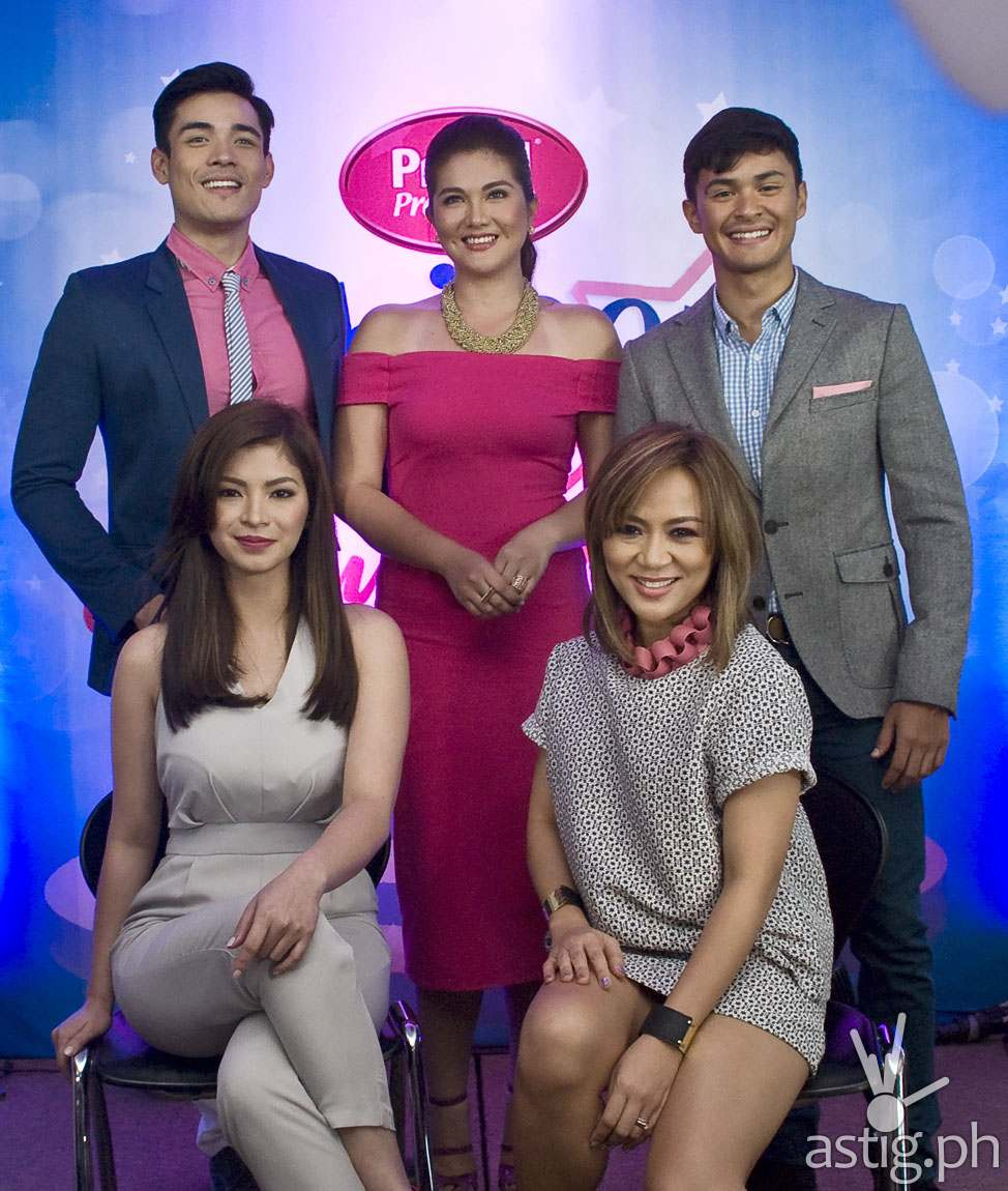 Promil iShine Talent Camp Dimples Romana, Matteo Guidicelli, Xian Lim , Angel Locsin