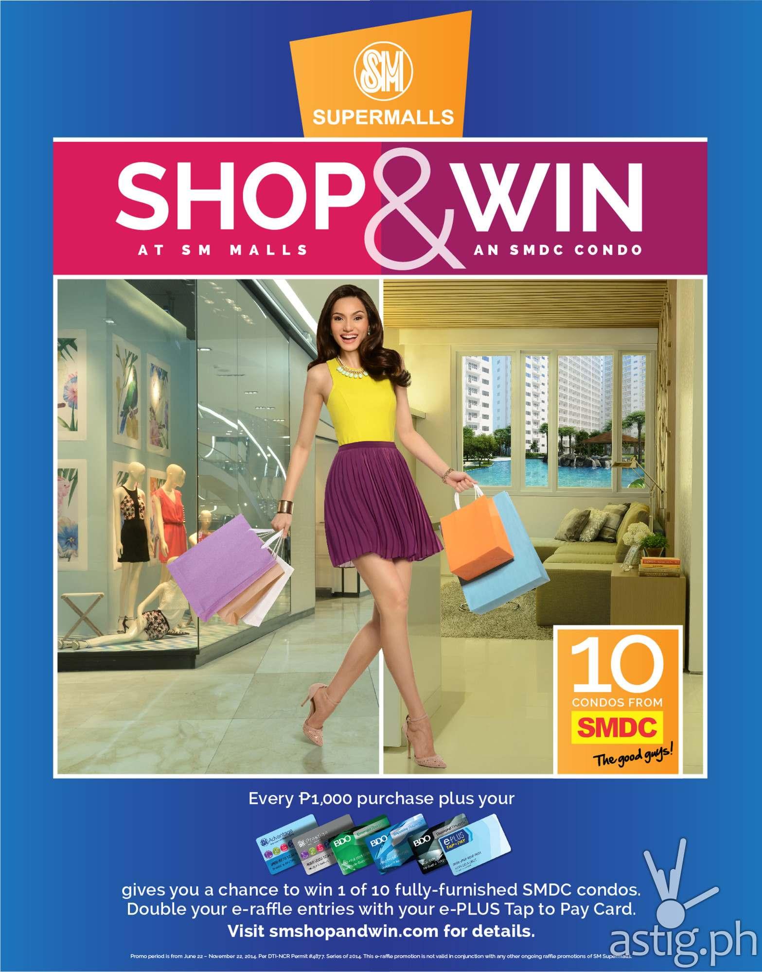 SM Supermalls Shop & Win promo