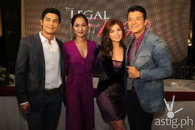 The Legal Wife lead stars Angel Locsin, Jericho Rosales, Maja Salvador and JC de Vera