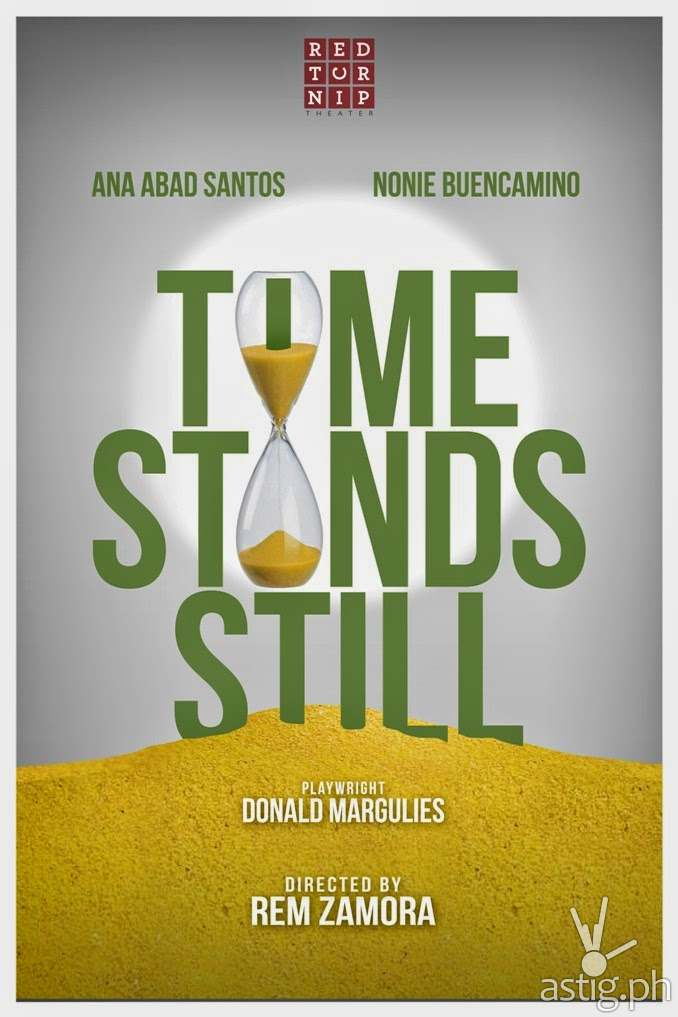 Time Stands Still teaser poster