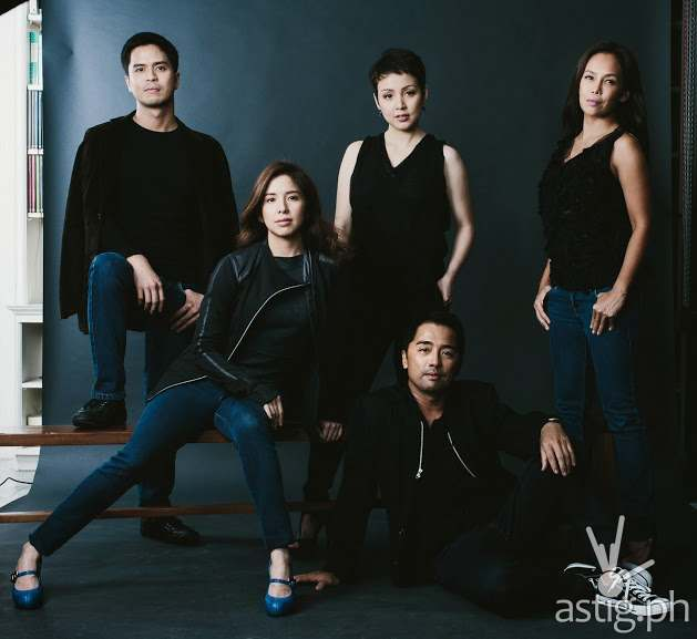 Topper Fabregas, Cris Villonco, Ana Abad Santos, Jenny Jamora, and Rem Zamora for Rabbit Hole by Red Turnip Theater