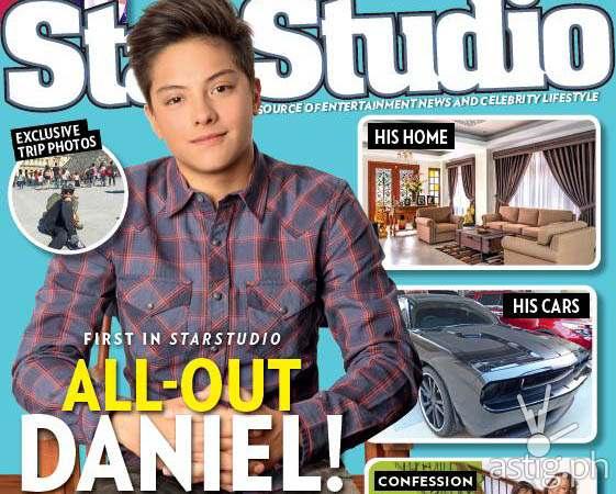 Daniel Padilla in StarStudio July 2014