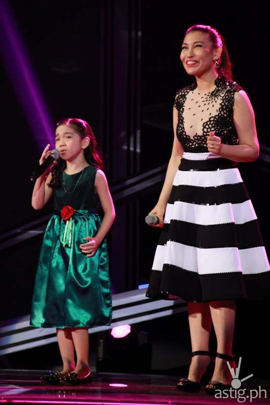 Darlene performing You Don't Have to Say You Love Me with Lani Misalucha