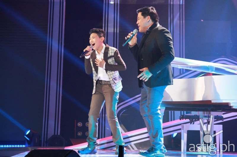 Darren with Martin Nievera
