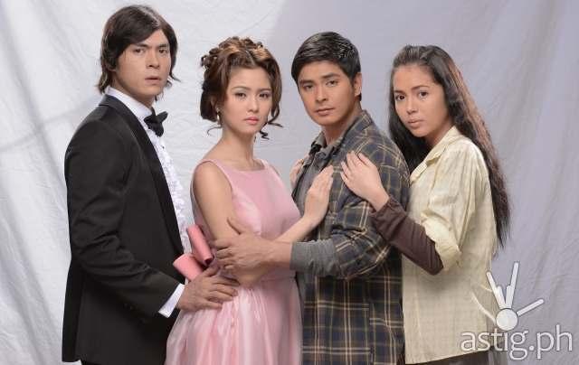 Jake Cuenca, Kim Chiu, Coco Martin, Julia Montes in Ikaw Lamang