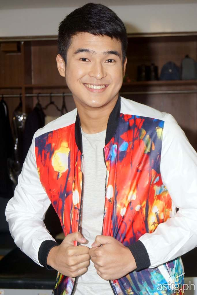 Jerome Ponce, who plays Kuya Luke in BCWMH, backstage of I HEART YOU 2 Anniversary Thanksgiving