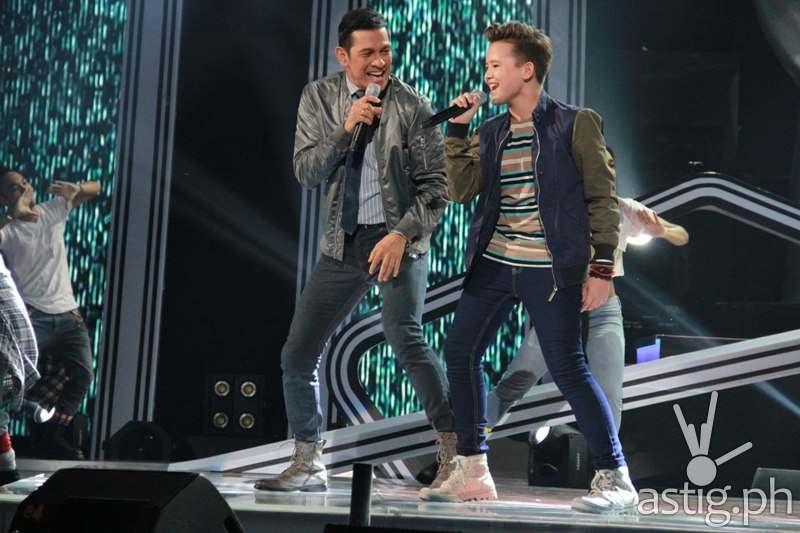Juan Karlos performing Eto Na Naman with Gary V