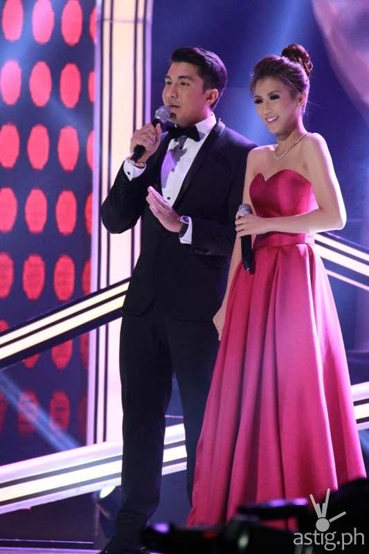 Luis Manzano and Alex Gonzaga