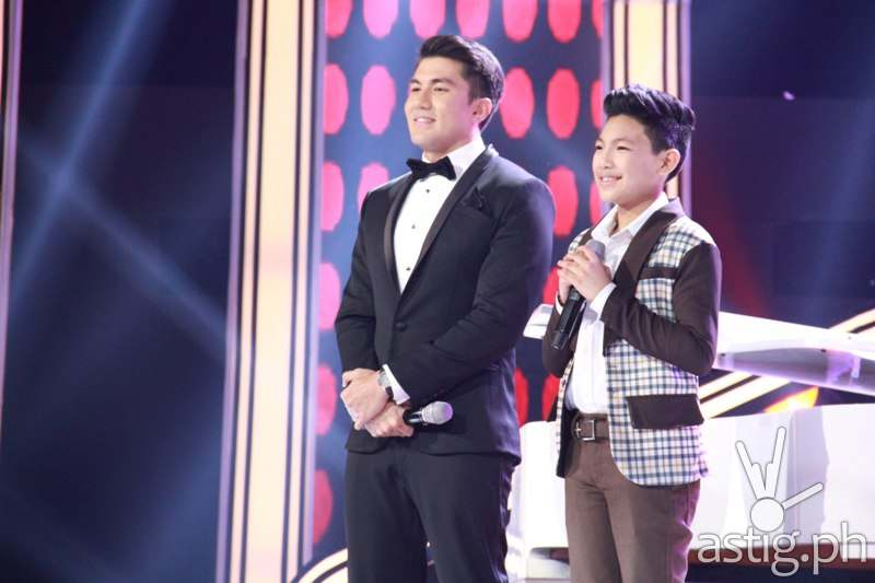 Luis Manzano with Darren