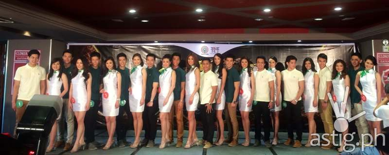 Mr. and Miss Chinatown 2014 candidates
