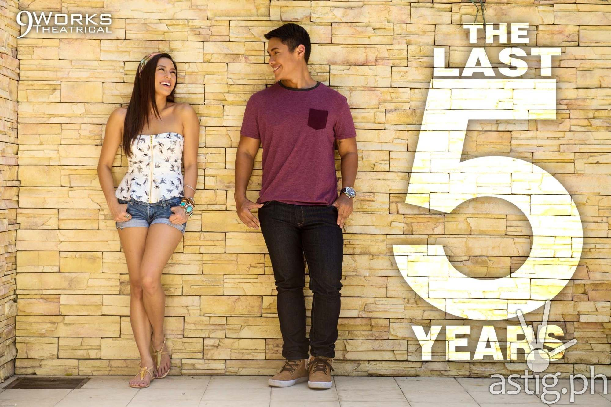 Nikki Gil, Joaquin Valdes in 'Last Five Years' by 9Works Theatrical