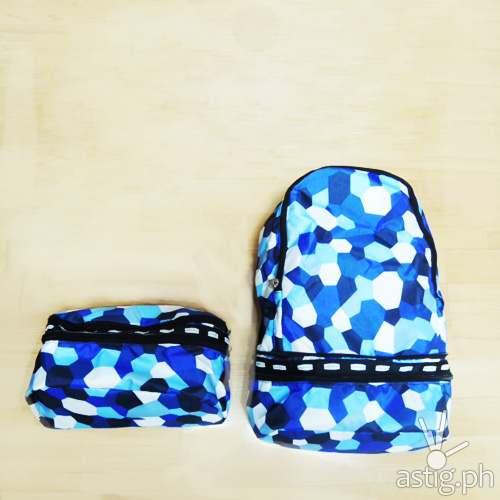 Parachute Bags convertible belt bag backpack (700 PHP)