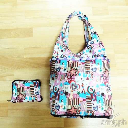 Parachute Bags foldable hobo bag (300 PHP)